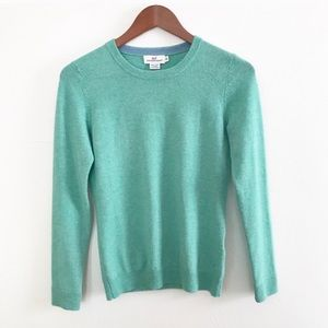 ** Vinyard Vines ** green wool/cashmere sweater